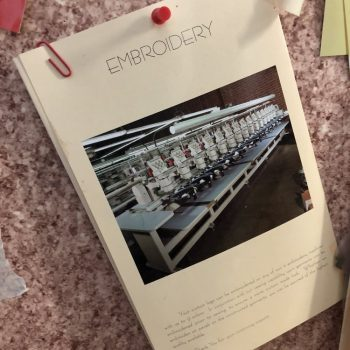Embroodery+press